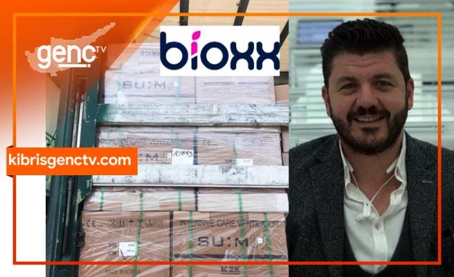 Solunum cihazlarında  ihalenin ilk teminini Bioxx Sağlık Hizmetleri adına direktör HasanTertemiz gerçekleştiriyor