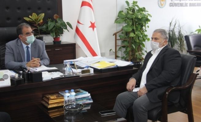 Sucuoğlu, Arkın Group Yönetim Kurulu Başkanı Arkın ile görüştü