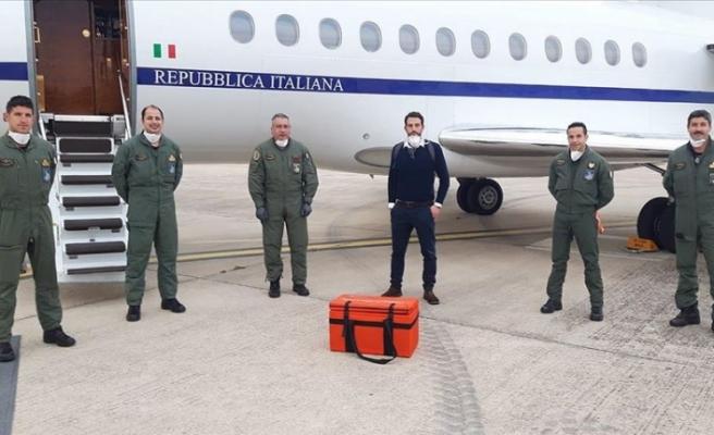 Türkiye'den kök hücre bağışlanan İtalyan çocuk için hava sahası açıldı