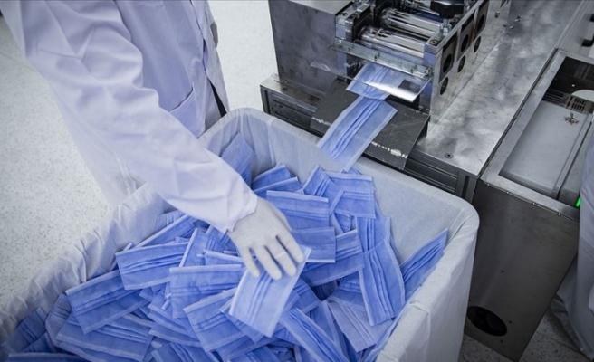 Türkiye Savunma Bakanlığından haftada 10 milyon maske üretimi