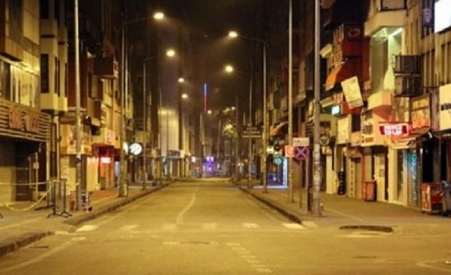 Türkiye'de 31 ildeki sokağa çıkma kısıtlaması başladı