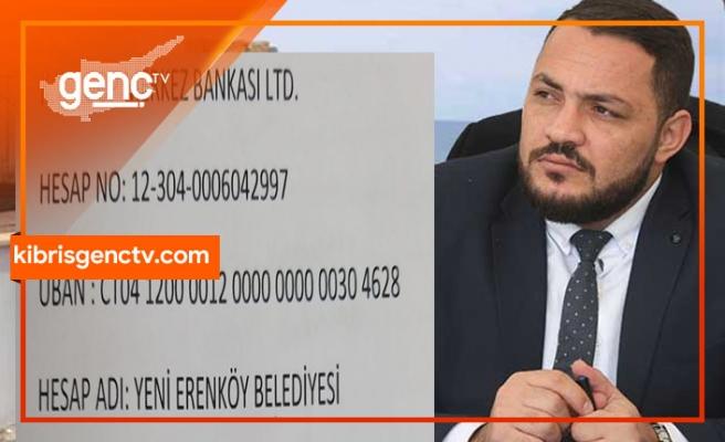 Yenierenköy Belediye Başkanı, kampanya başlattı maaşının yarısını bağışladı