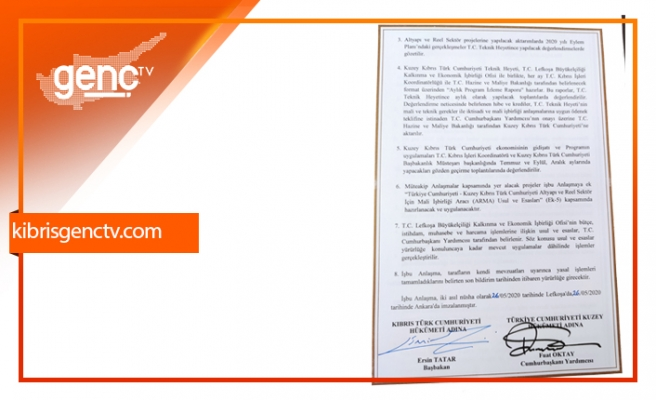 Anlaşmanın detayları açıklandı