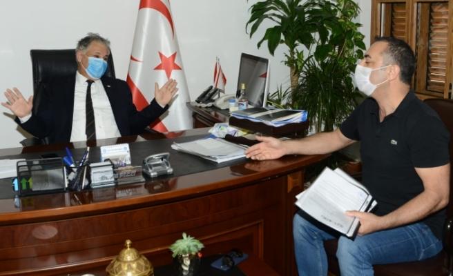 Bakan Pilli, Restorancılar Birliği ile görüştü