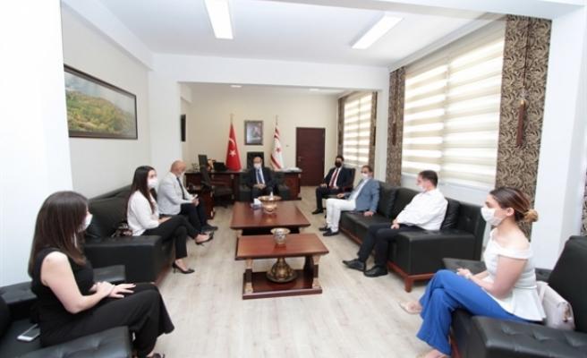 Başbakan Tatar Matematiksel Modelleme Araştırma Grubu heyetini kabul etti