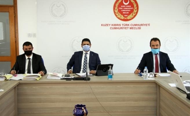 Borç İlişkileri Ad Hoc Komitesi toplandı