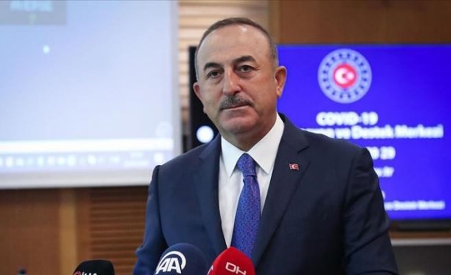 """Çavuşoğlu: """"103 ülkeden 65 binden fazla vatandaşımızı Türkiye'ye döndürdük"""""""