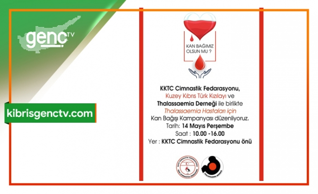 Cimnastik Federasyonundan kan bağışı kampanyası