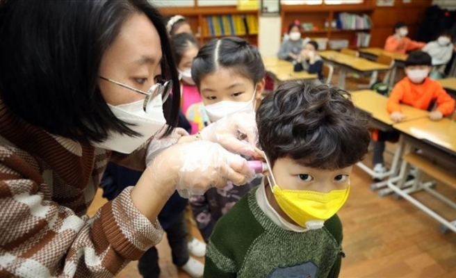 Çin'de 4, Güney Kore'de 20 yeni corona virüs vakası