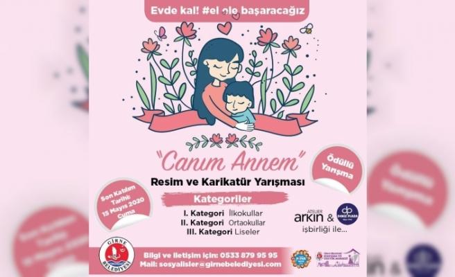 Girne Belediyesi, 'Canım Annem Resim ve Karikatür Yarışması' düzenliyor