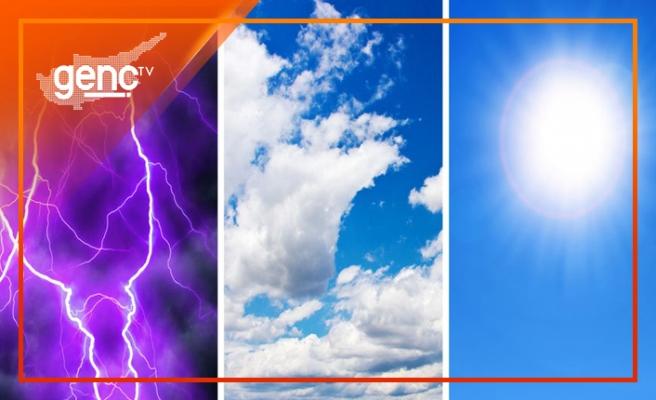 KKTC'de bugün hava nasıl olacak?