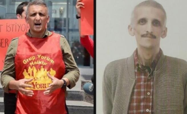 Ölüm orucuna ara veren Grup Yorum üyesi İbrahim Gökçek hastanede hayatını kaybetti