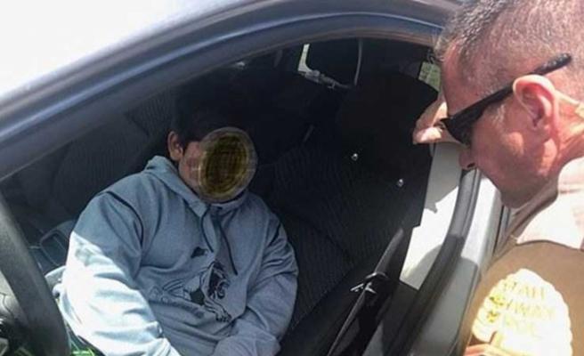 Polis sarhoş sandı, sürücü 5 yaşında çıktı