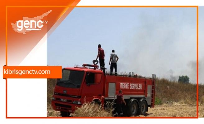 Serdarlı'da çıkan iki arazi yangını ile ilgili tutuklama