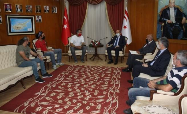 """Tatar: """"Kapılar konusunda Güney Kıbrıs ile temasa geçilecek"""""""