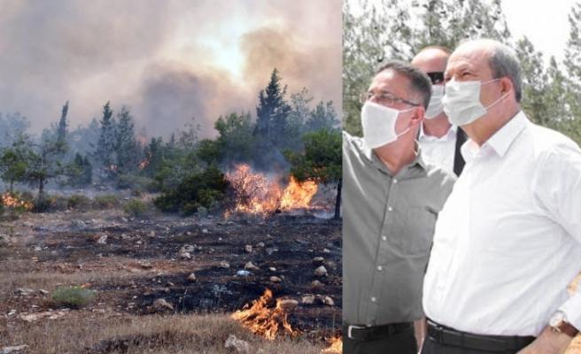 """Tatar: """"Yangında müdahale kabiliyetimizi arttıracak kararlar alacağız"""""""