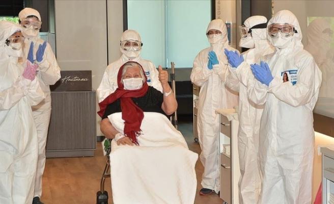 Türkiye'de iyileşen hasta sayısı 83 bine yaklaştı