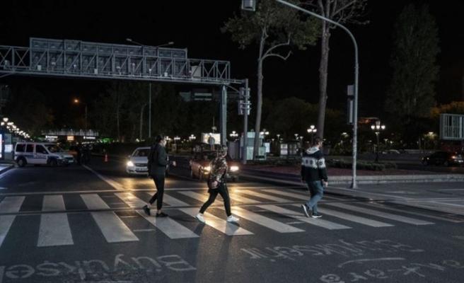 Türkiye'de sokağa çıkma kısıtlaması sona erdi