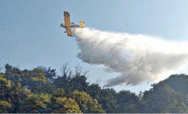 """Yangına müdahele eden Rum pilot: """"Mükemmel bir işbirliği yaptık"""""""