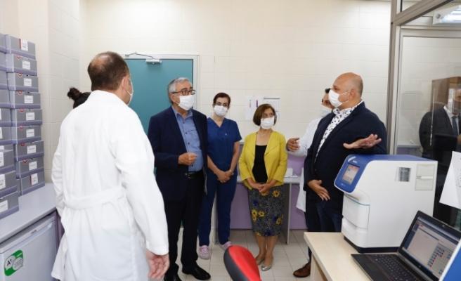 Akıncı'dan  Gazimağusa Devlet Hastanesine ziyaret