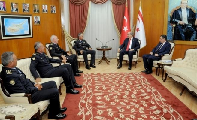 Başbakan Tatar, Manavoğlu ve Soyalan'ı kabul etti