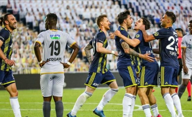 Fenerbahçe-Malatyaspor maçında 5 gol