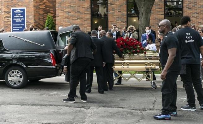 George Floyd için ilk cenaze töreni düzenlendi