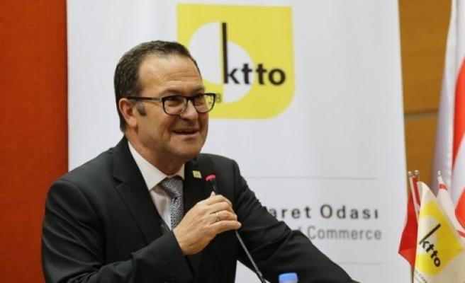 Kıbrıs Türk Ticaret Odası'nın 57'nci Olağan Genel Kurul toplantısı yapıldı