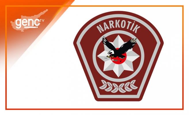 Lefkoşa'da park halindeki araçtan uyuşturucu çıktı