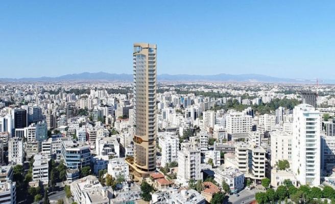 Lefkoşa'nın güneyine 150 metrelik bina