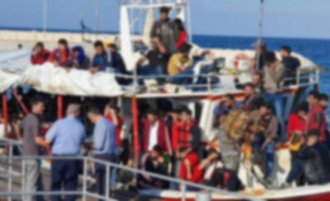 Mültecilerin yüzde 75'inin KKTC'den geçtiğini iddia etti