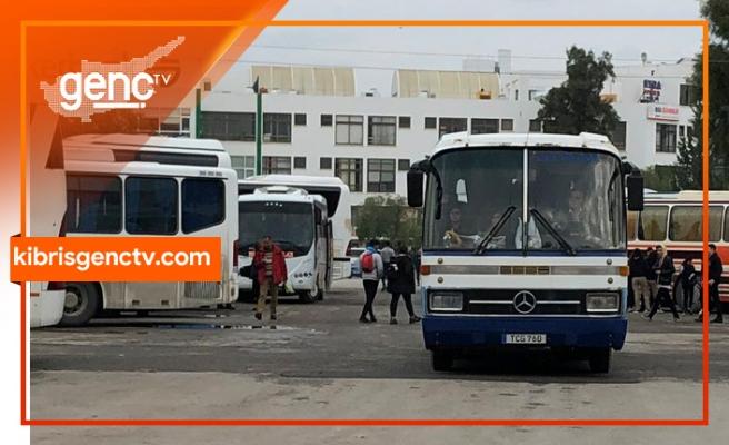 Otobüs şöförleri başkentte eylem yapacak