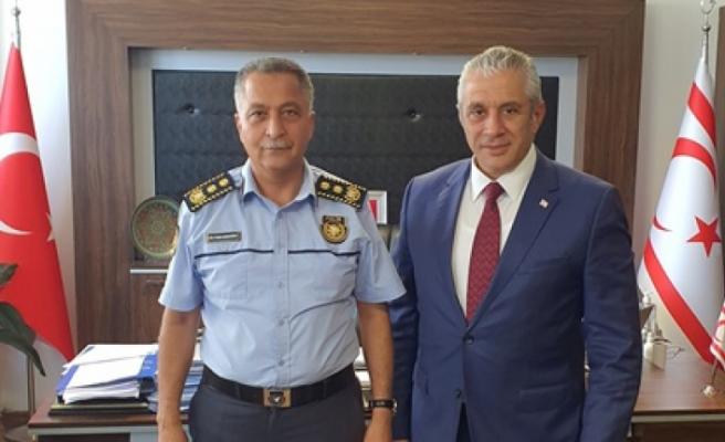 Taçoy'dan Manavoğlu'na teşekkür