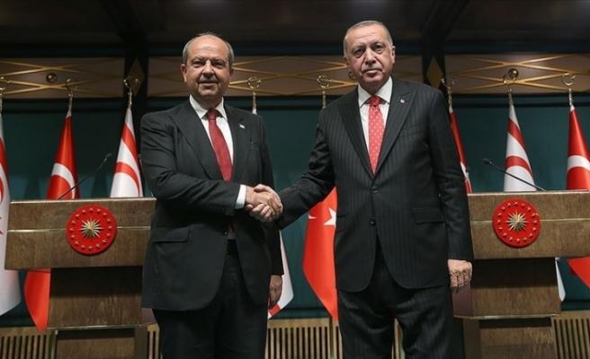 Tatar, Erdoğan ile telefonda görüştü