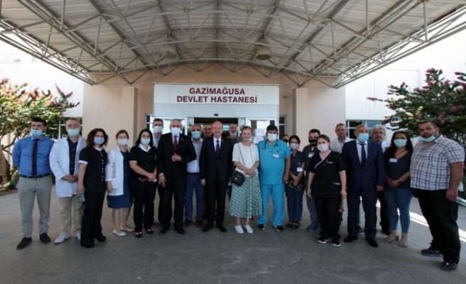 """Tatar: """"Ülkeye gelecek yolcu sayısı sağlık altyapısına göre ayarlanacak"""""""