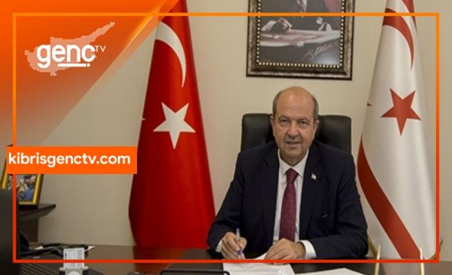 Tatar:Avrupa Birliği'nin Kıbrıs Türkü'nün Doğu Akdeniz'deki hak ve hukukunu görmezden gelmesi asla sineye çekilemez