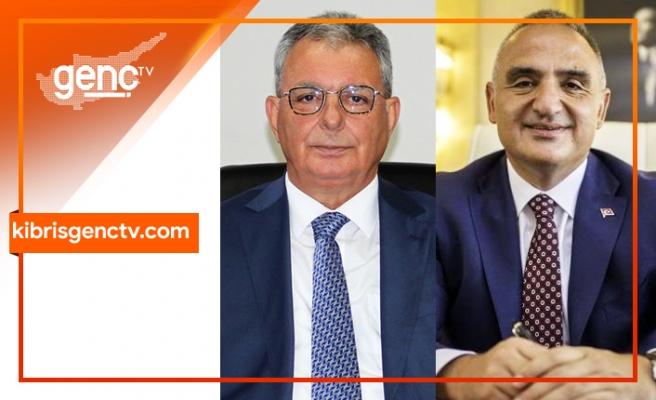 Türkiye Turizm Bakanı Ersoy, Evren'e başarılar diledi