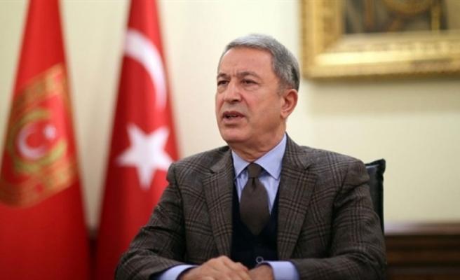 """Akar: """"Türkiye ve KKTC'nin Doğu Akdeniz'deki hak ve menfaatlerinin korunması esastır"""""""