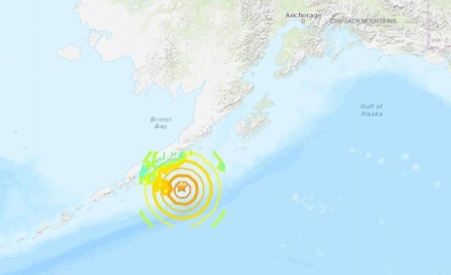 Alaska'da 7.8 büyüklüğünde deprem
