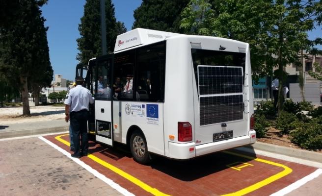 Baf'ta elektrikli otobüsler faaliyete girecek