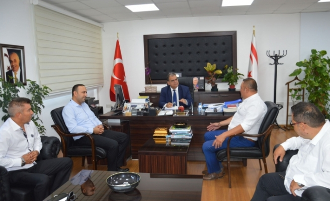 Bakan Sucuoğlu, ADA-SEN yetkililerini kabul etti