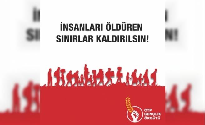 CTP Gençlik Örgütü'nden sığınmacılara ateş edenlere yaptırım talebi