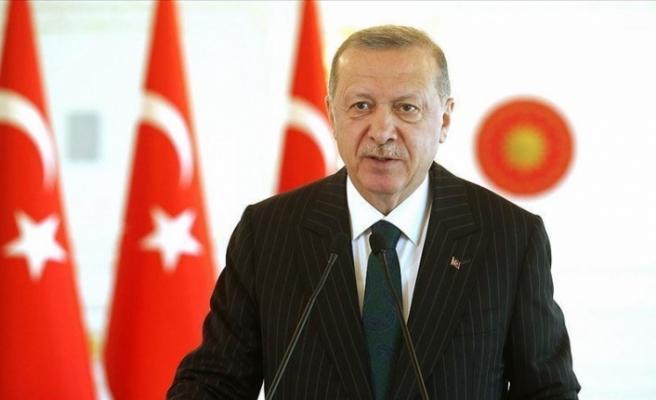 Erdoğan Katar'a gitti
