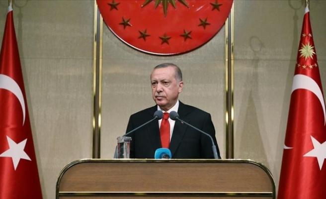"""Erdoğan: """"Kıbrıslı Türklerin haklarını koruduk"""""""