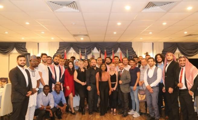 GAÜ, , Uluslararası Öğrenci Toplulukları için gece düzenledi