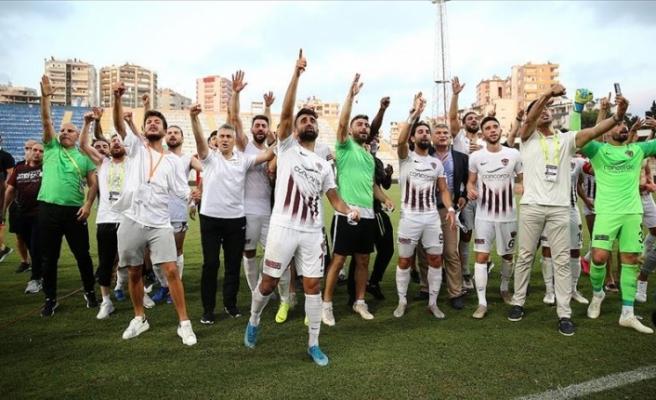 Hatayspor Türkiye Süper Ligde
