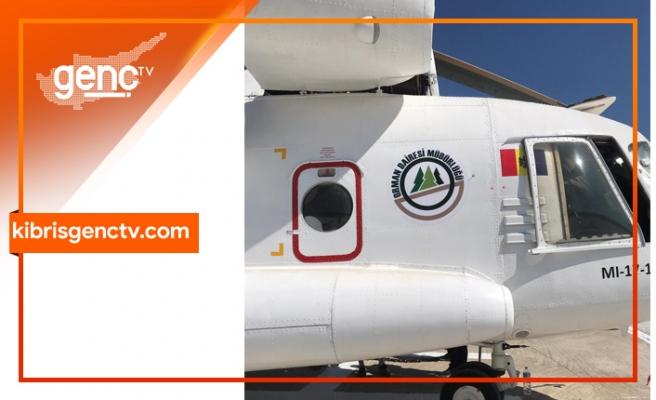 Helikoptere Orman Dairesi logosu basıldı