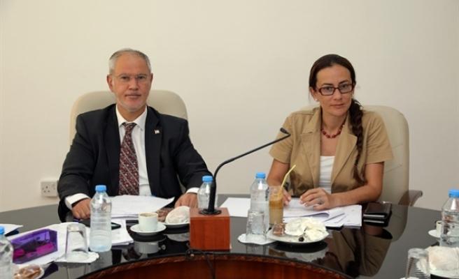 Hukuk, Siyasi İşler ve Dış İlişkiler Komitesi toplandı