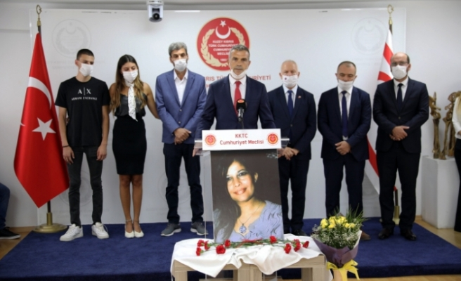 Mavi Salon'a, Zalihe Çavuşoğlu'nun adı verildi