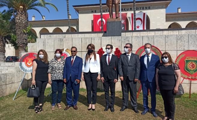 Mersin'de tören yapıldı